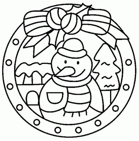 snowman mandala coloring pages mandala sneeuwpop χειμωνιατικες ζωγραφιες