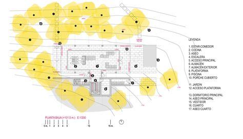 House Plans With Floor Plans Gallery Of Gallarda House Estudio Jfgs 12
