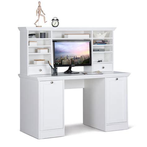Schreibtisch Computertisch by Schreibtisch Mit Aufsatz Landstr 246 M 33 Wei 223 136x138x63 Cm