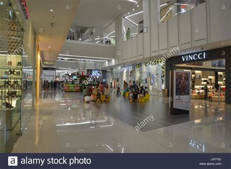 pakistan s largest shopping emporium mall lahore emporium shopping mall lahore pakistan stock photo