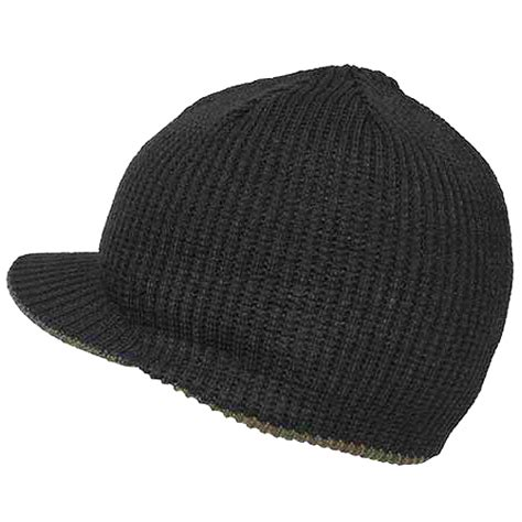 knit jeep cap mfh reversible cold weather knit jeep cap mens winter