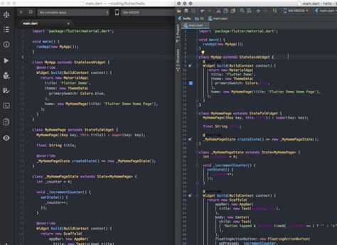 color themes intellij dart flutter use atom syntax hightlighting in intellij