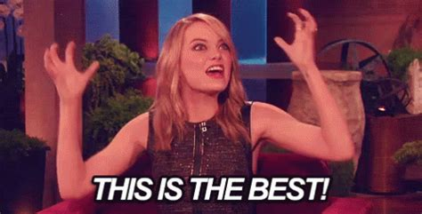 best gif this is the best gif excited best emmastone discover