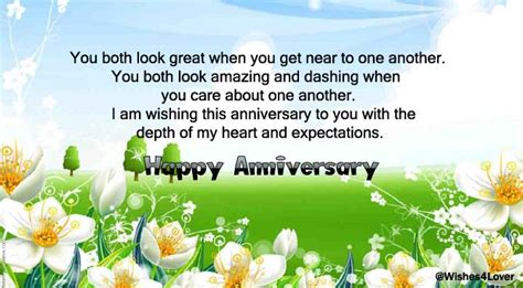 Wedding Anniversary Wishes For Inlaws by Happy Anniversary To And In Wishes4lover