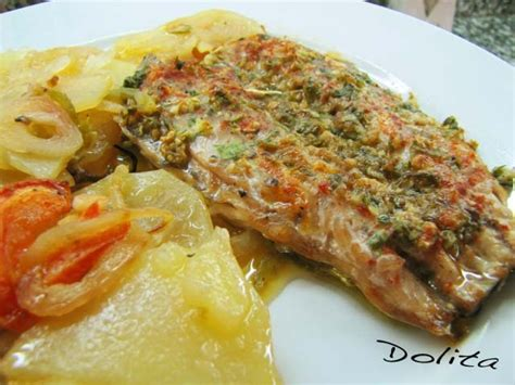 las recetas de saschafitness 6070721977 las recetas de mis amigas caballa al horno con patatas y verduras