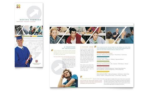 college prospectus design template college and brochure design template by