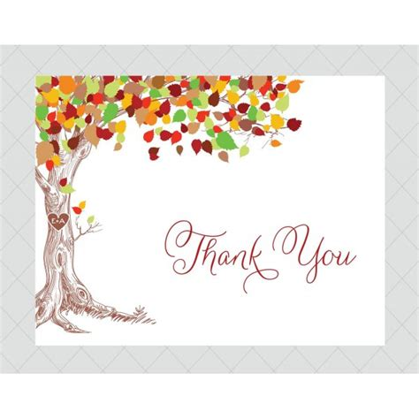 Thank You Card Template With Tree by Những Mẫu H 236 Nh Nền Kết Th 250 C Powerpoint Thank You