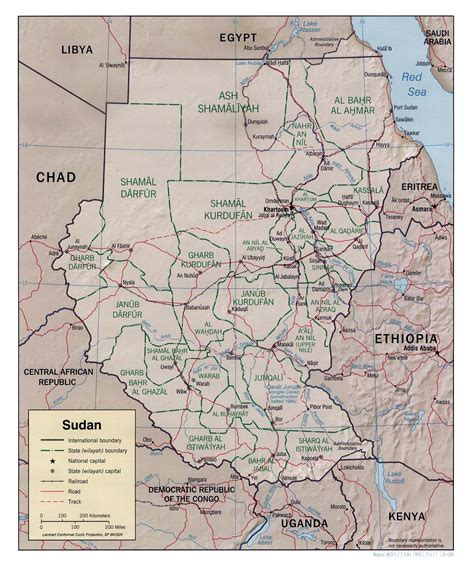 map of sudan nationmaster maps of sudan 9 in total