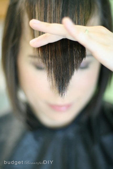 diy layered haircut upside down with bangs best 25 cut side bangs ideas on pinterest side bang