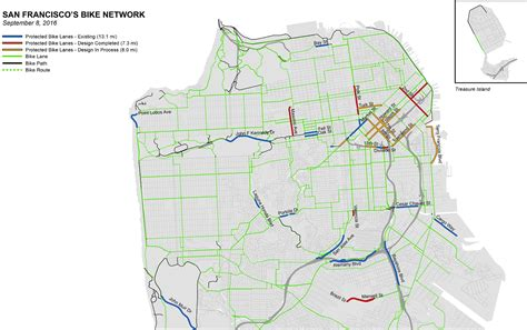 san francisco bike map a new generation of bikeways is coming to san francisco