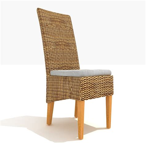 Rattan Dining Chairs Bordeaux Rattan Dining Chair 3d Max