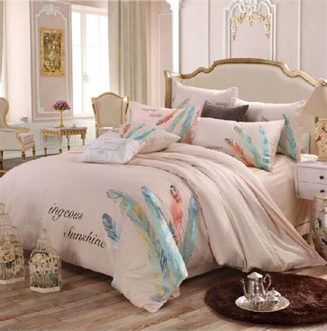 king size feather comforter charming feather fine embroidery queen king size 100