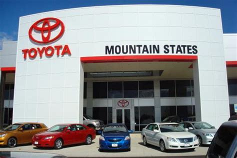 Mountain States Toyota Denver Mountain States Toyota Denver Co 80221 Car Dealership