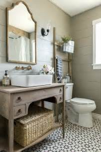 farmhouse bathrooms and projects knick of time home decor country style bathroom vanity bathroom wall