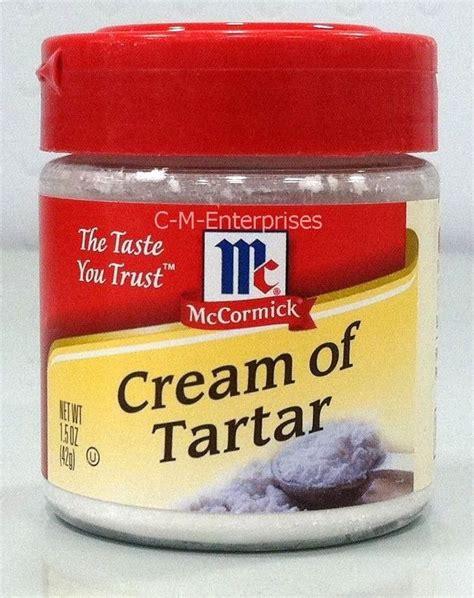Of Tartar Mccormick Of Tartar 1 5 Oz Ebay