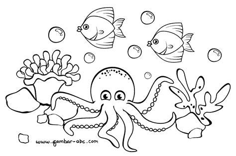 Mewarnai Hewan Laut gambar mudah menggambar hewan bikin gemar melukis desember lima gambar di rebanas rebanas