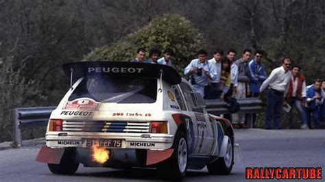peugeot 205 group b peugeot 205 t16 evo2 gruppo b pure engine sound youtube