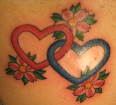 interlocking tattoos interlocking hearts by laviolette tattoonow