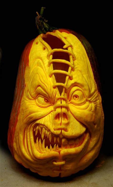 creepy pumpkins 100 pumpkin carving ideas for