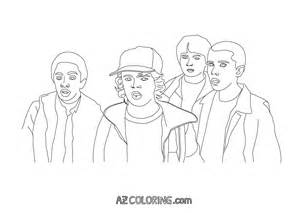 stranger coloring pages coloring