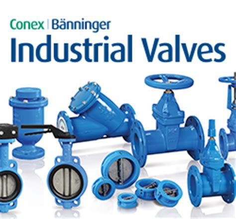 Conex Plumbing by Industrial Valves