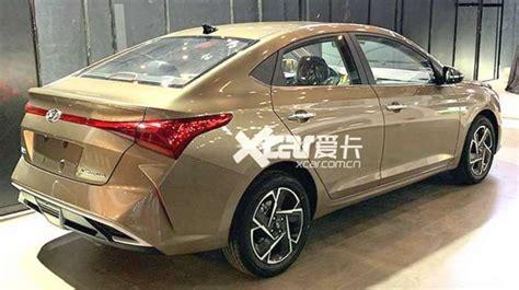 upcoming hyundai verna 2020 2020 hyundai verna facelift spied undisguised exterior