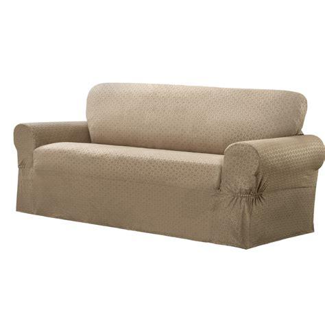 box cushion sofa slipcover maytex conrad stretch sofa box cushion slipcover ebay
