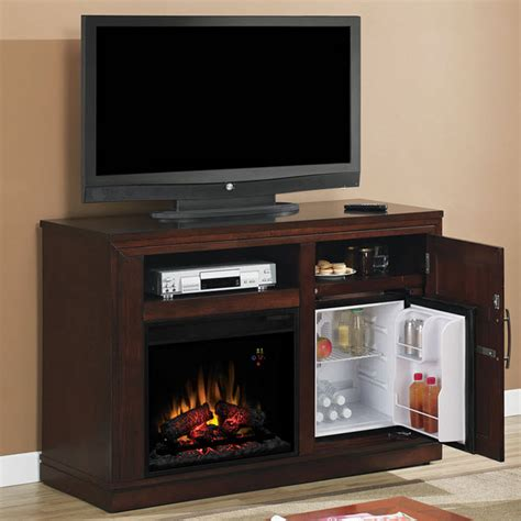 Cherry Electric Fireplace by 50 75 Quot Time Empire Cherry Electric Fireplace Media