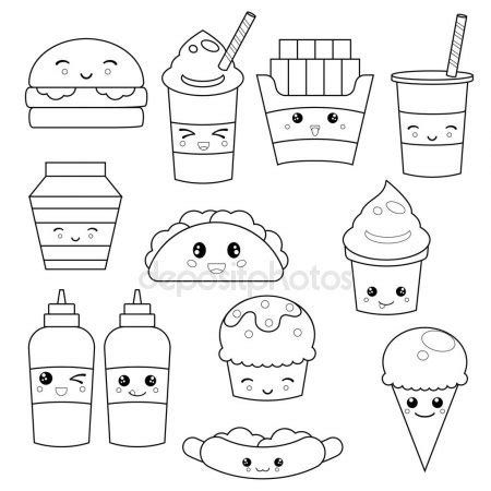 imagenes de frutas kawaii para colorear kawaii cute facce faccine kawaii design personaggi