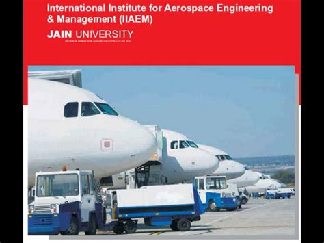 Mba In Airline And Airport Management In Canada by Jain Offers Mba In Aviation Business Management