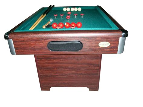 slate bumper pool table walnut finish