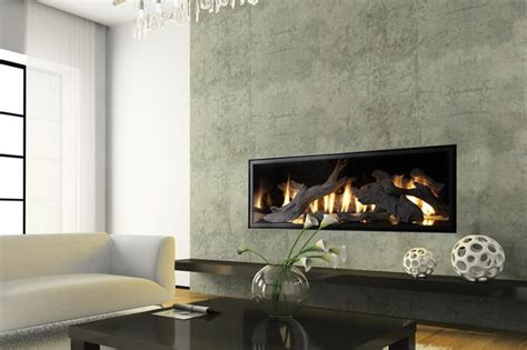 Modern Linear Gas Fireplace by Fpx Xtreme 6020 Linear Greensmart Gas Fireplace Modern
