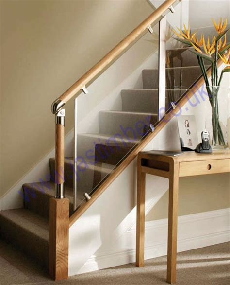 how to fit a banister fusion clear acrylic landing stair panels