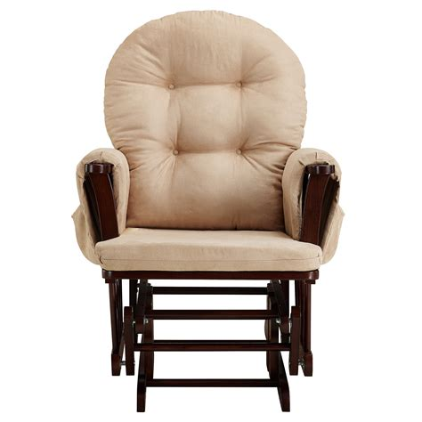 Baby Relax Harbour Glider Rocker And Ottoman Set Beige Glider Rocker And Ottoman Set