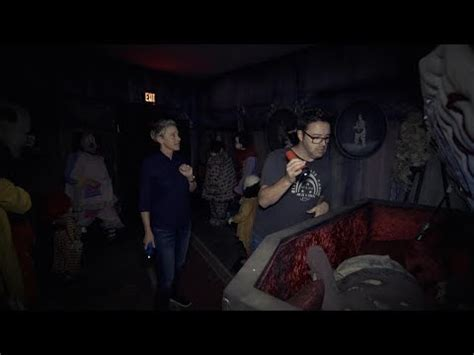 ellen sends andy to haunted house ellen andy visit the it haunted house
