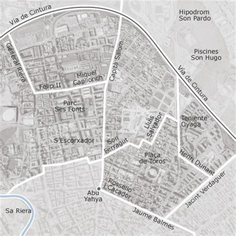 mapa de son oliva plaza toros camp redo palma de mallorca idealista