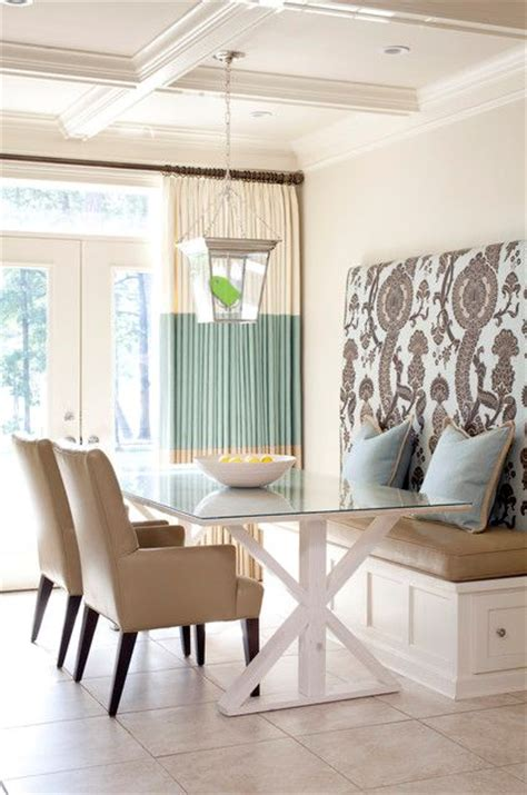 Dining Room Banquette Built In Banquette Seating Dining Room In Living Color Pinterest