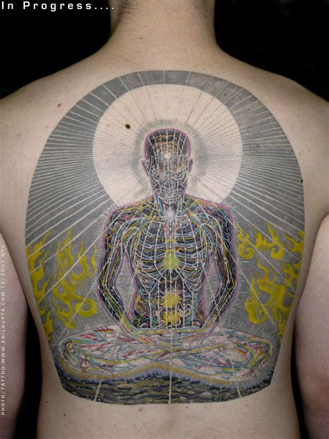 meditation tattoos anil gupta spiritual tattoos