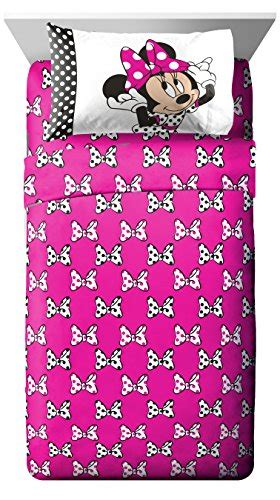 minnie mouse bed in a bag disney minnie mouse dots are the new black 5 piece twin
