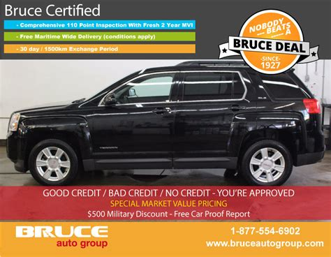 gmc terrain 6 cyl used 2012 gmc terrain sle 3 0l 6 cyl automatic awd in