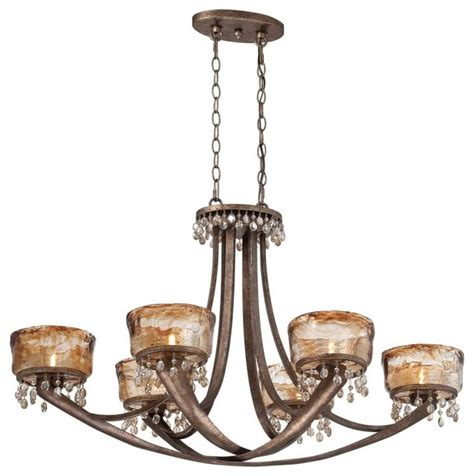 Traditional Island Lighting Minka Lavery La Bohem 6 Light Island Light Traditional Kitchen Island Lighting By Lighting
