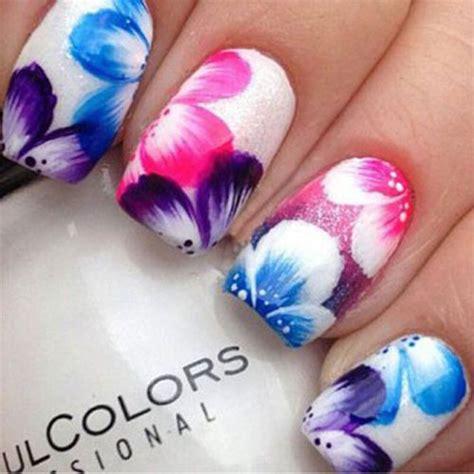 design flower nail art 15 spring flower nail art designs ideas trends
