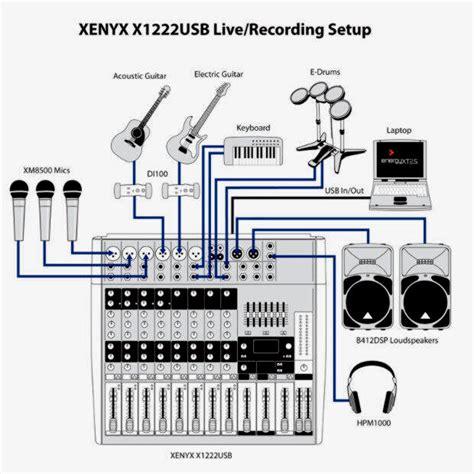 Mixer Xenyx X1222usb mesa behringer xenyx x1222usb c nf e garantia proshows r
