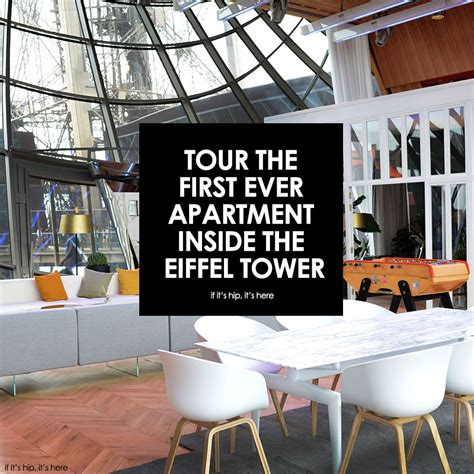 The First Ever Apartment Inside The Eiffel Tower | the first ever apartment inside the eiffel tower
