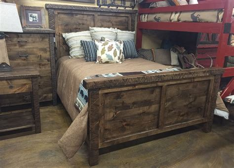 rustic wood bedroom set bradley s furniture etc utah rustic bedroom furniture