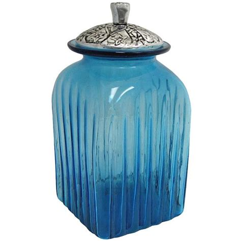 glass kitchen canister blown glass canisters collection renaissance kitchen canister gkc007