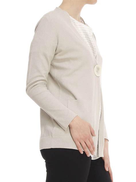 v neck cotton cardigan v neck cotton cardigan by fabiana filippi cardigans ikrix