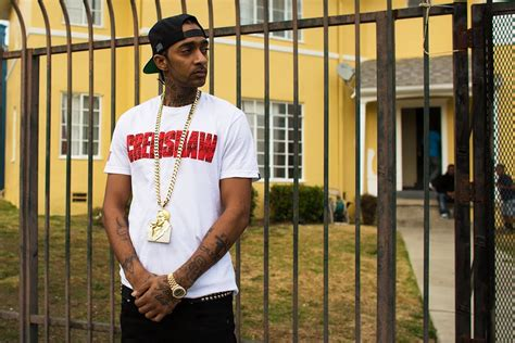 nipsey hussle young la rapper nipsey hussle priced his mixtape at 1 000 and