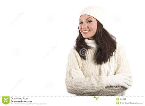 woman in winter clothing asian woman in winter clothes stock photos image 8515023