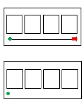 elkonin boxes template phonemic awareness sound boxes 4 squares by 2 cool in